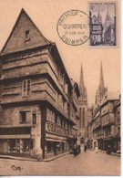 CARTE MAXIMUM   QYIMPR  EDITION BOURGOGNE  N° YVERT  ET TELLIER 979 TRES BON ETAT - 1950-59