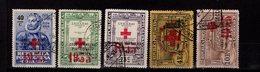 Portugal Portofreiheitsmarken Rotes Kreuz 41 - 46 Used Gestempelt  A 25 - Franchise