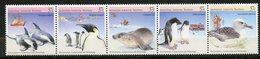 Territoire Antarctique Australien (AAT) , Yvert 79/83**, Scott L76a-e**, MNH - Territoire Antarctique Australien (AAT)