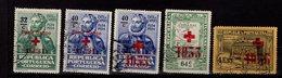 Portugal Portofreiheitsmarken Rotes Kreuz Ex 30 - 45 Used Gestempelt  A 26 - Franchise
