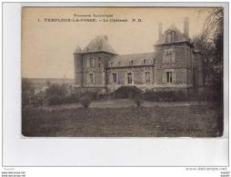 TEMPLEUX LA FOSSE - Le Château - Très Bon état - Sonstige Gemeinden