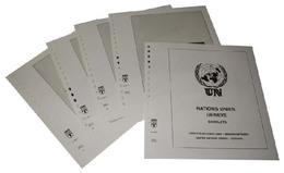 Lindner-T Nachtrag Vordruckblätter Vereinte Nationen GENF Kleinbogen 2019 Zusammendruckbogen - Vordruckblätter