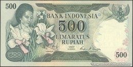 TWN - INDONESIA 117 - 500 Rupiah 1977 Prefix NBO UNC - Indonesia