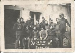 Petite Photo 57 RIC (Régiment Infanterie Coloniale?) Section Auto. Miltaria. - Guerre, Militaire