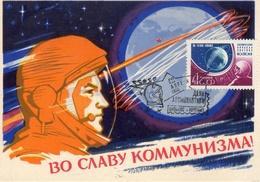 Russia / USSR / CCCP  Maximum Card / MC 1963 Gagarin Vilnius PM Lollini#1717 III - Storia Postale