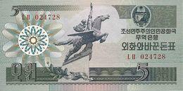 COREE DU NORD 5 WON 1988 UNC P 28 - Corée Du Nord