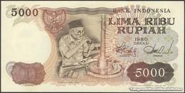 TWN - INDONESIA 120a - 5000 5.000 Rupiah 1980 Prefix SML UNC - Indonesia