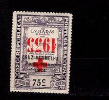 Portugal Portofreiheitsmarken Rotes Kreuz 56 Aufdruck Kopfstehend MLH *  A 33 - Franchise