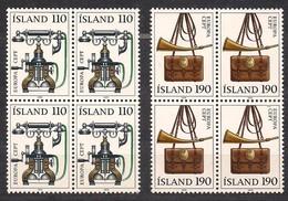 Cept  Europa 1979 Ijsland Iceland Islande Yvertn° 4 X 492-93 *** MNH Cote 20 Euro - Neufs