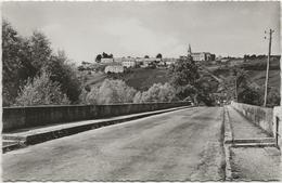 CPSM  Digoin  Le Pont De L'Arroux  Et Route De La Motte St Jean - Digoin