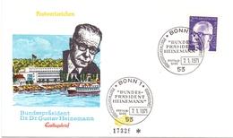 DR.GUSTAV HEINEMANN 1971 BONN FDC   (GENN201049) - Celebrità