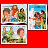 LIBYA 1984 Woman Emancipation Women Gaddafi Gheddafi (MNH) - Libyen