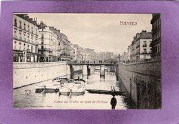 44 NANTES  Canal De L'Erdre Au Pont De L'Ecluse - Nantes