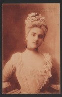 """Beatrice Dussane - De La Comédie Francaise - Role De Lisette Dans """" Le Legs """" - 1905 - Théâtre"""