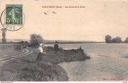 PORT MORT - Les Bords De La Seine - Très Bon état - Autres Communes