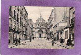 44 NANTES  Rue Mazagran Eglise Notre Dame - Nantes
