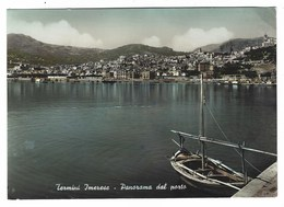2660 - TERMINI IMERESE PALERMO PANORAMA DAL PORTO 1950 CIRCA - Italien