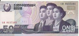 COREE DU NORD 50 WON  2009 AUNC P 60 - Corée Du Nord