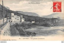 LETTRET - Vue Générale Et La Durance - Très Bon état - Other Municipalities