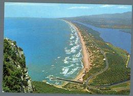 °°° Cartolina - Sabaudia Panorama Del Circeo Viaggiata °°° - Latina