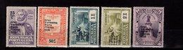 Portugal Portofreiheitsmarken Rotes Kreuz Ex 59 - 64 MLH * A 38 - Franquicia