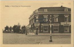 HEFFEN :  Grote Baan En Gemeenteplaats ( Winkel DE ENGEL --  Wegwijzer Naar Heindonk ) - Malines