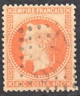 NAPOLEON LAURE N° 31 ORANGE OB. GC 5107 TUNIS TTB INDICE 14 - 1863-1870 Napoleon III With Laurels