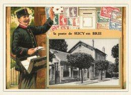 SUCY  En  BRIE.....  3 Cartes Souvenirs   Creations Modernes Série Limitée - Sucy En Brie