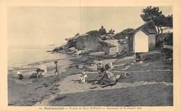 20-1273 : ILE DE NOIRMOUTIER. POINTE DU FORT SAINT-PIERRE. - Ile De Noirmoutier