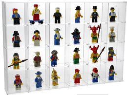 SAFE 5259 Klein-Vitrine Aus Acryl-Glas Z.B. Für Legofiguren - Francobolli