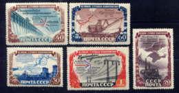 RUSSIE - 1584/15885**  - RELISATIONS HYDROELECTRO-TECHNIQUES - 1923-1991 URSS