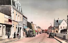 20-1275 : SAINT-GILLES CROIX DE VIE. QUAI DE LA REPUBLIQUE. GARAGE AUTOMOBILE. POSTE A ESSENCE. CAMION. - Saint Gilles Croix De Vie