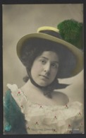 Felecitas Ceriglio - Jolie Chapeau - Artiste - 1909 - En Coulerus - Artistes