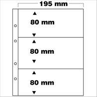 SAFE 7399 PA 5erPack Ergänzungsblätter 3-teilig Fachformat 80x195 Mm - Zubehör