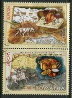 ROMANIA 2005 Europe: Gastronomy  Used.  Michel 5935-36 - 1948-.... Repúblicas