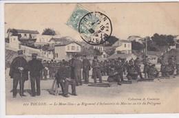 83 TOULON Le Mourillon 4e Régiment D'infanterie De Marine Au Tir Du Polygone - Toulon