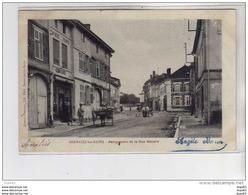 SERMAIZE LES BAINS - Perspective De La Rue Bénard - Très Bon état - Sermaize-les-Bains