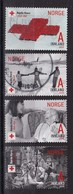 Norway 2015, Red Cross, Complete Set Vfu. - Gebraucht