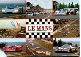 N°2121 T -cpsm 24 Heures Du Mans -multivues- - Le Mans