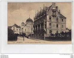 BIARRITZ - La Villa Labat Et L'Eglise Russe - Très Bon état - Biarritz