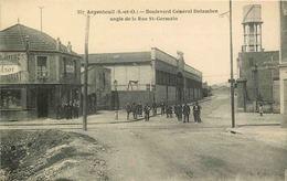 VAL D'OISE  ARGENTEUIL   Boulevard Général Delambre Angle Rue Saint Germain - Argenteuil