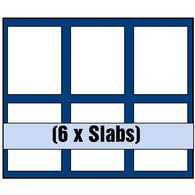 SAFE Tableau 6373 SP Für 6 Slabs - Supplies And Equipment