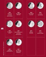 SAFE 7344-1 Münzblatt Mit Vordruck Für 20 Euro-Münzen 2016/2017 - Supplies And Equipment