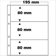 SAFE 7399 PA 5erPack Ergänzungsblätter 3-teilig Fachformat 80x195 Mm - Supplies And Equipment