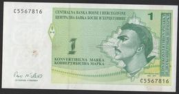Bosnie Herzegovine 1998 2 X1 Konvertible Mark - Fortlaufenden Nummerierung, - Bosnie-Herzegovine