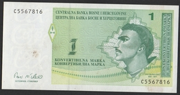 Bosnie Herzegovine 1998 2 X1 Konvertible Mark - Fortlaufenden Nummerierung, - Bosnia And Herzegovina