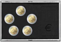 SAFE 7904 Münz-Etui Für 5 Stück 2-Euro-Sondermünzen - Supplies And Equipment