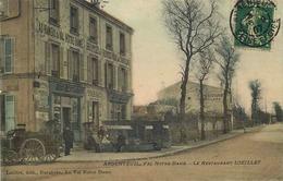 VAL D'OISE  ARGENTEUIL  Val Notre Dame  Restaurant  LOEILLET - Argenteuil