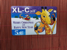 Christmas Phonecard XL-Call Used Rare - Noel