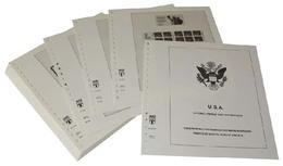 Lindner-T Vordruckblätter T512R/01 USA Markenheftchen Und Automaten-Folienblätter- Jahrgang 2001 Bis 2008 - Vordruckblätter